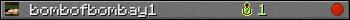Benutzerleisten 350x20 für bombofbombay1
