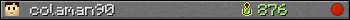 colaman90 userbar 350x20