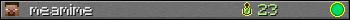 Юзербар 350x20 для meamime
