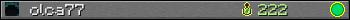 olca77 userbar 350x20