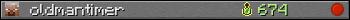 Юзербар 350x20 для oldmantimer