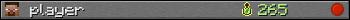 player userbar 350x20