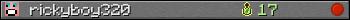 rickyboy320 userbar 350x20