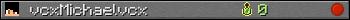 Benutzerleisten 350x20 für vcxMichaelvcx