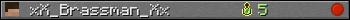 xX_Brassman_Xx userbar 350x20