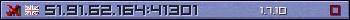 Юзербар фіолетовий 350x20 для сервера 198.55.108.137:25565
