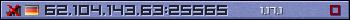 Юзербар фіолетовий 350x20 для сервера 45.126.209.58:25565