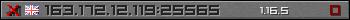 Userbar grau 350x20 für den Server 163.172.12.119:25565